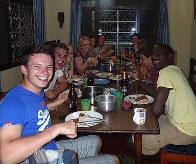 Dining area, Busoga Trust Guest House Jinj