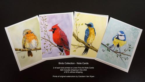 """Birds"" Note Cards_1"