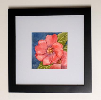 Pretty in Pink Original Watercolor Mini_1