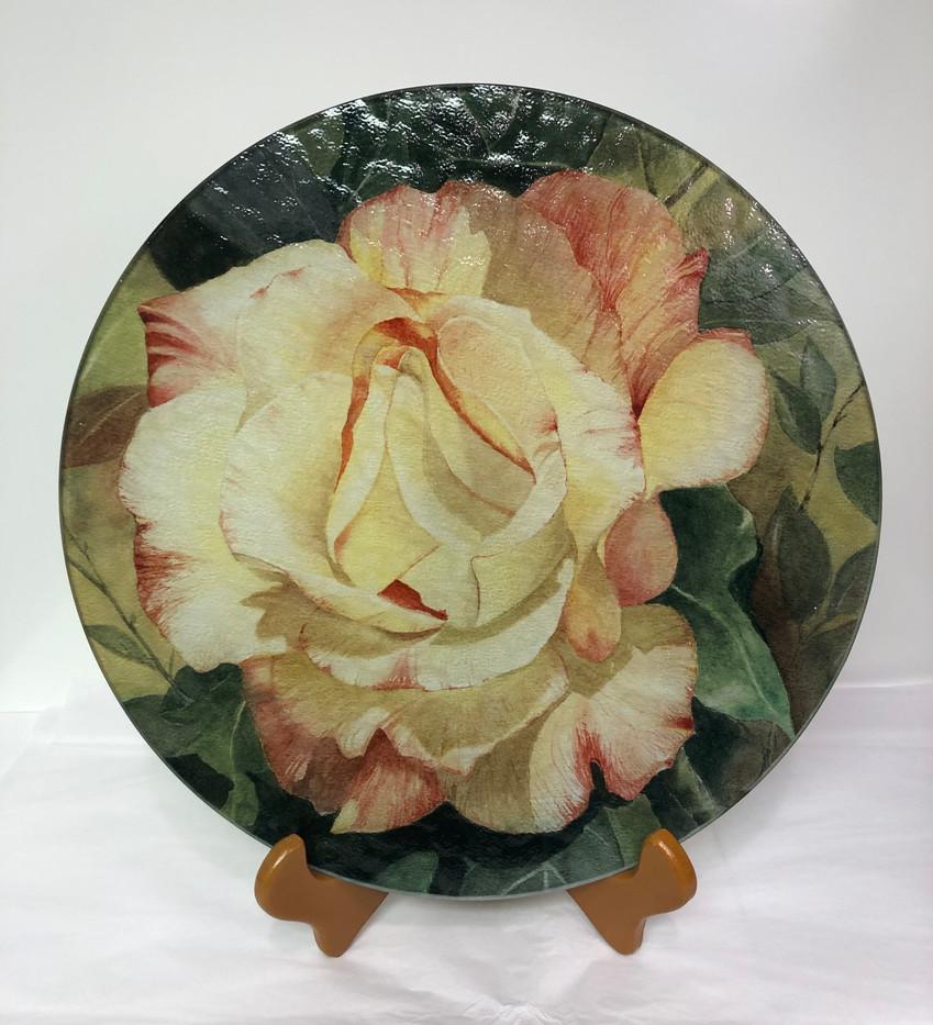 """Warmth of A Bloom"" Cutting Board _1"