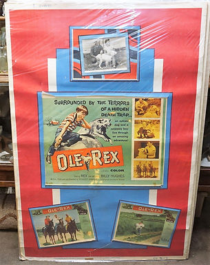 1950s-60s Movie Poster - Ole Rex
