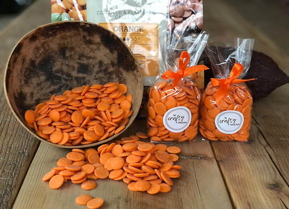 Callebaut Orange flavoured Chocolate Buttons