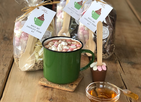 Boozy Hot Chocolate Spoon Kit