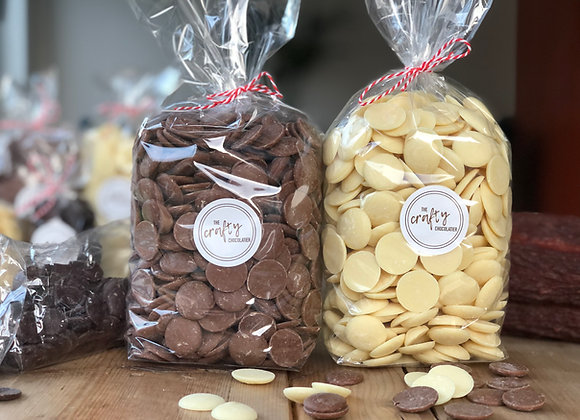 800g Belgian chocolate Buttons