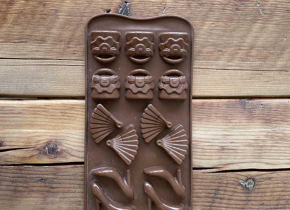 Women's accessories Silicone Chocolate mould