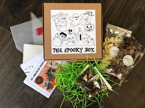 The Chocolate Spooky DIY Gift Box