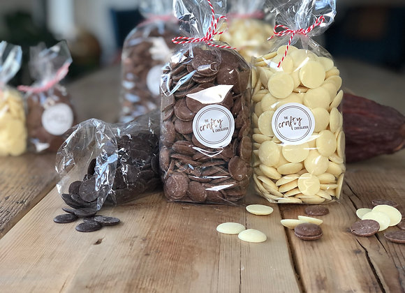 400g Belgian chocolate Buttons