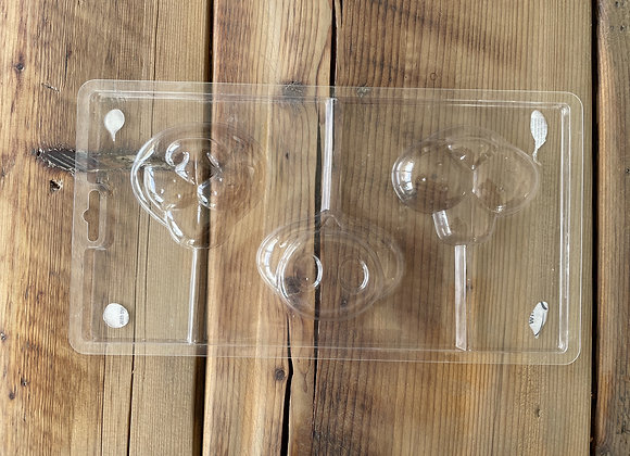 Animal nose fun face lolly Chocolate mould