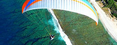 Baptême Air Lagon parapente à Saint Leu