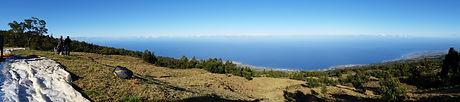 Décollage du 1600 mètres pour le vol en parapente Le Panoramique de Air Lagon Parapente Réunion