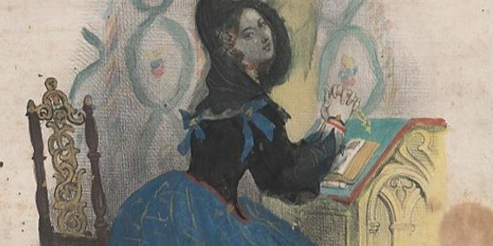 Table ronde 18h La Romance à Paris, piano carré Erard 1806