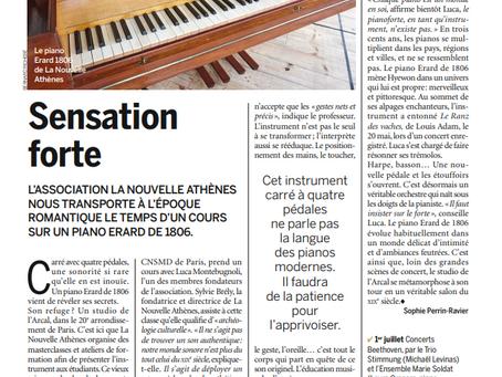 Pianiste Magazine - Sensation forte - Erard 1806