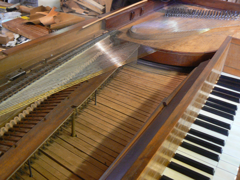 Erard 1806 Cordes et claviers