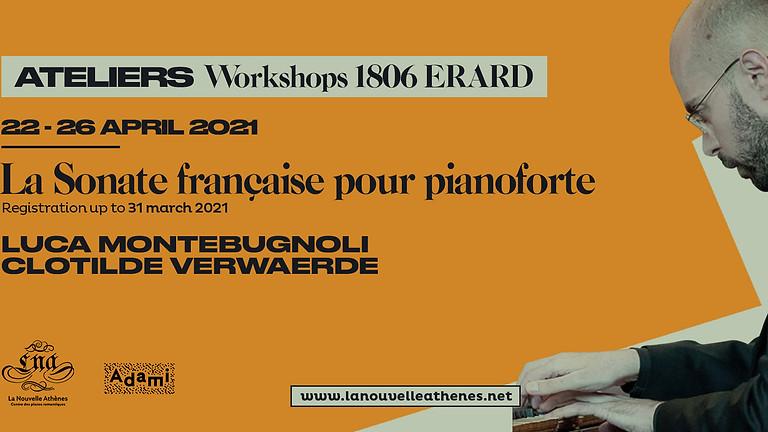 Atelier La Sonate française pour pianoforte, piano carré Erard 1806