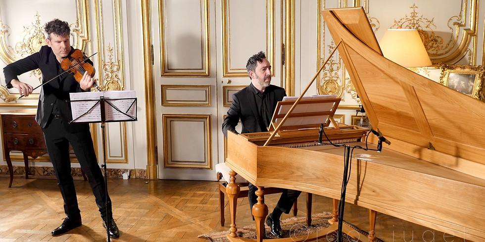 VOD : Piano Silbermann à l'hôtel de Noailles (XVIIIe siècle)