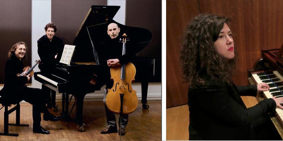 Concert présentiel  19h30 et filmé : Beethoven : Trio Archiduc, sonates Waldstein  & op.109