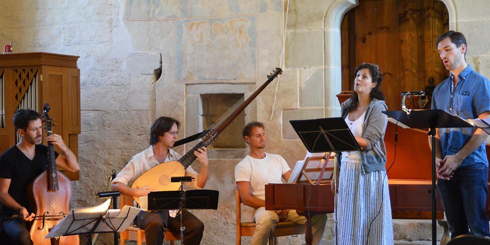 Concert filmé retransmis en direct, Duetti da camera, l'invention du pianoforte Cristofori