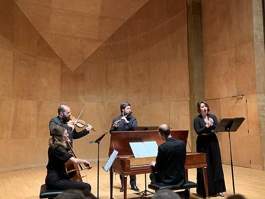 Avec Stéphane Fuget clavecin, chef de chant, Luca Montebugnoli pianoforte, Claire Lefilliatre chant et Clotilde Verwaerde musicologue