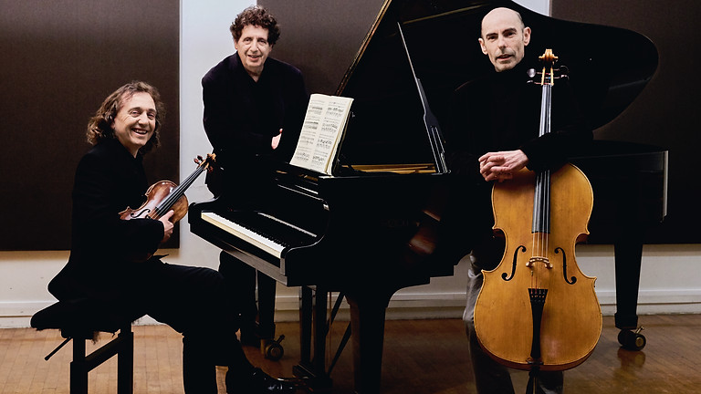 Face-to-face concert 7 p.m .: Beethoven: Trio Archiduc & Waldstein - M.Levinas, C.Giovaninetti, R.Chrétien