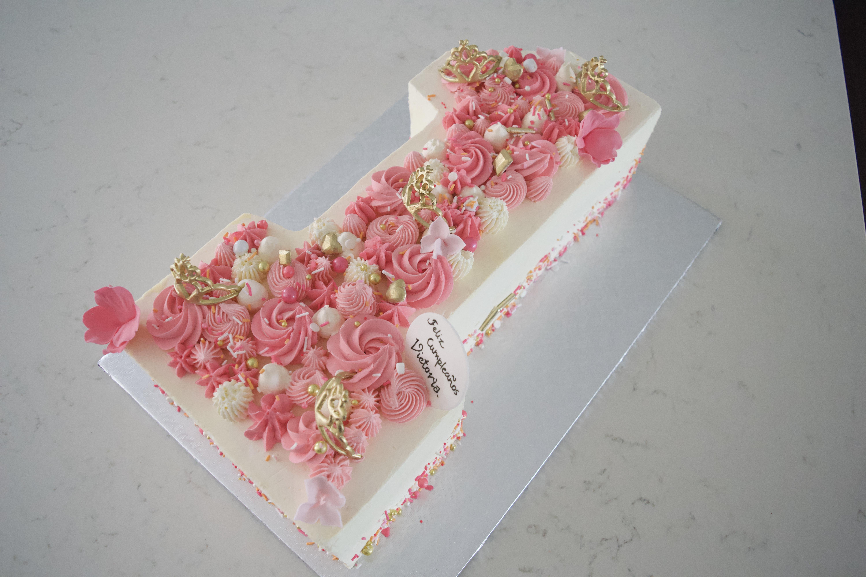 Princess #1 cake
