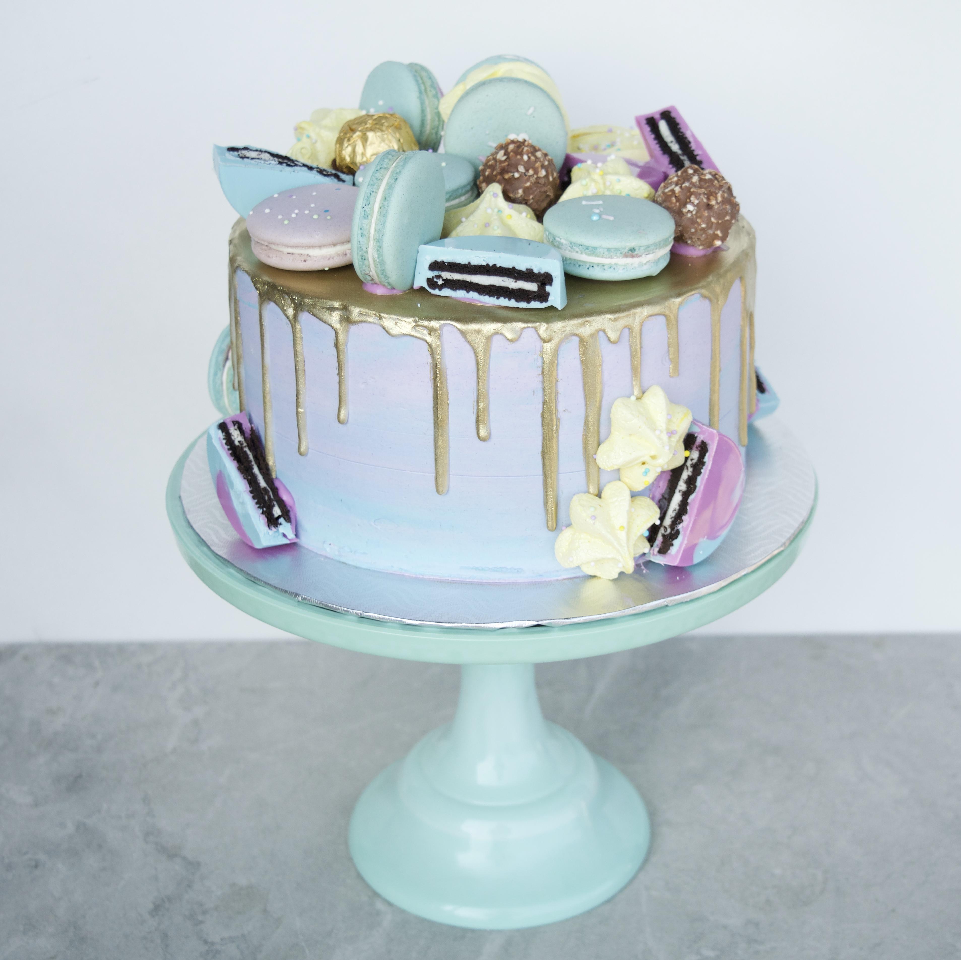"""Everything"" cake"