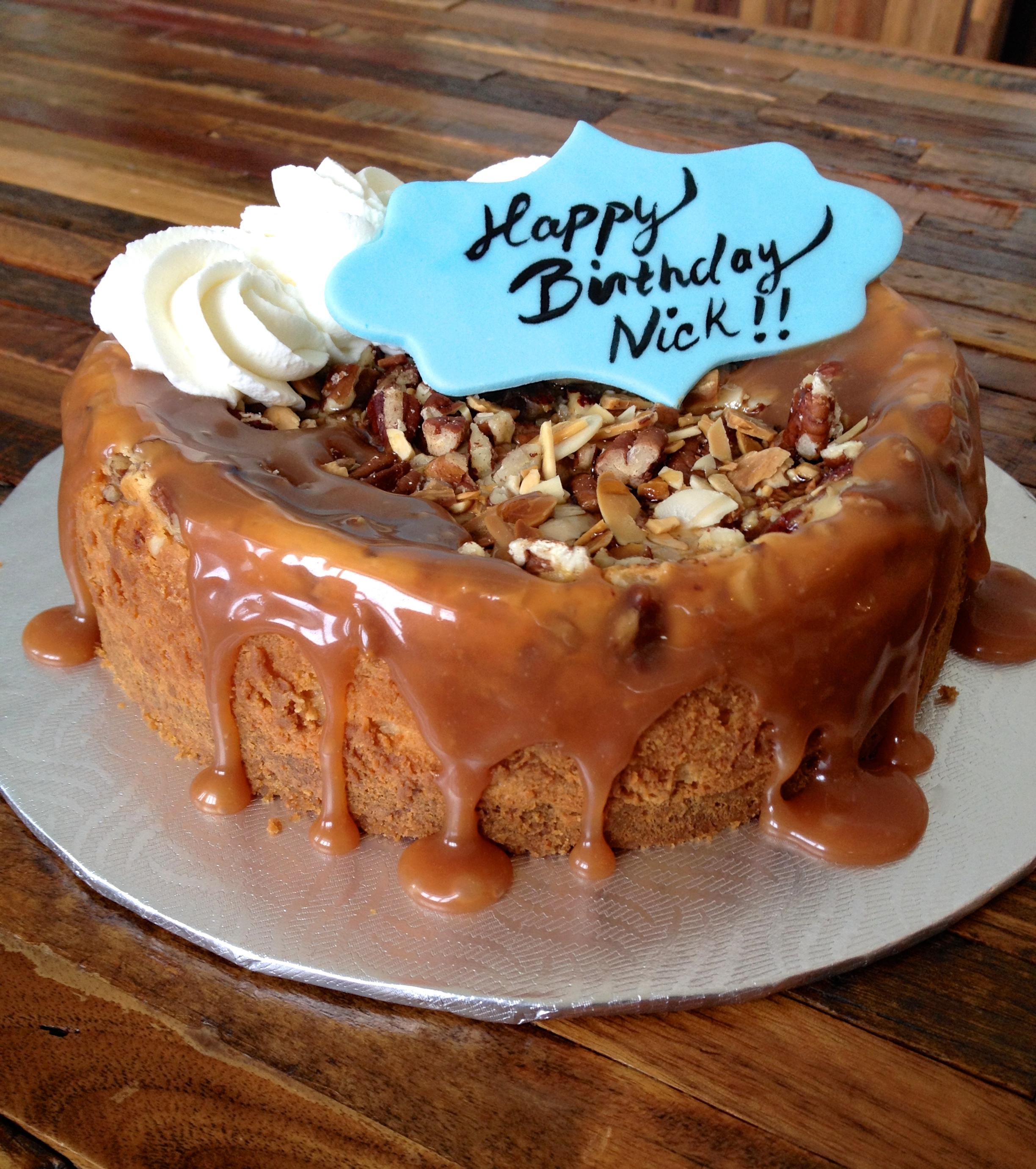 Cheesecake noix et sirop d'érable