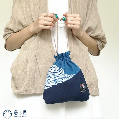 和風拼布系列(和風小索袋)DIY套組/成品