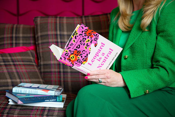 Lizzy reading 'Leopard is a Neutral'