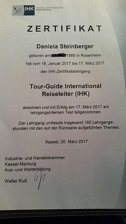 Zertifikat DS Service