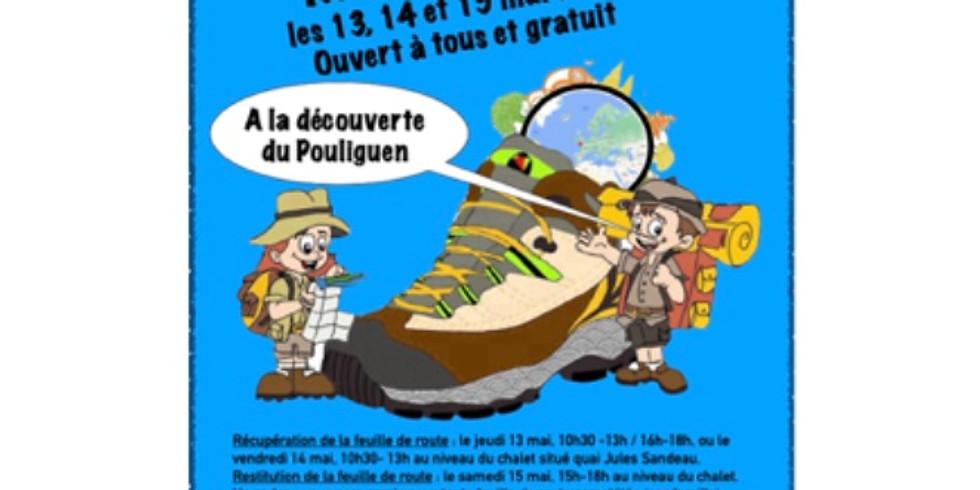 Rallye pédestre dans la ville du Pouliguen