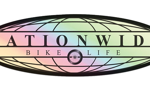 Limited Edition Nationwide Bike Life Decal