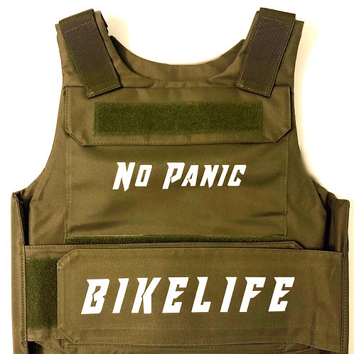 Army Green Bike Life Riding Vest