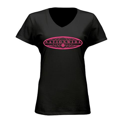 Women's Black Logo T Shirt