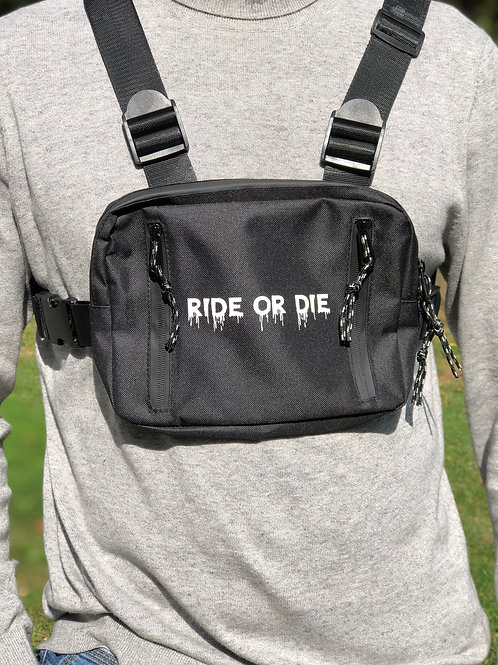 """Ride or Die"" Chest Pack"