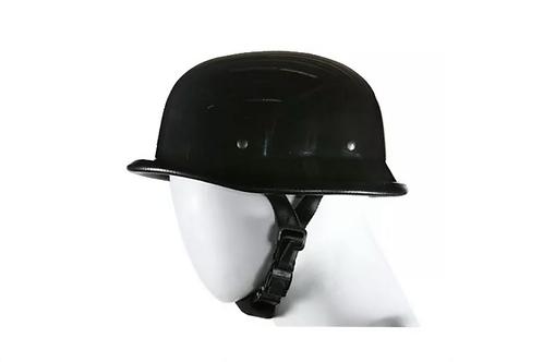 Half Helmet in Glossy Black