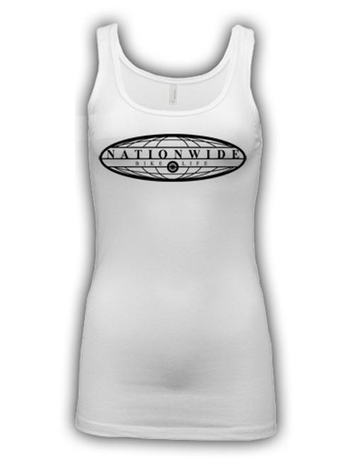Women's White Tank Top
