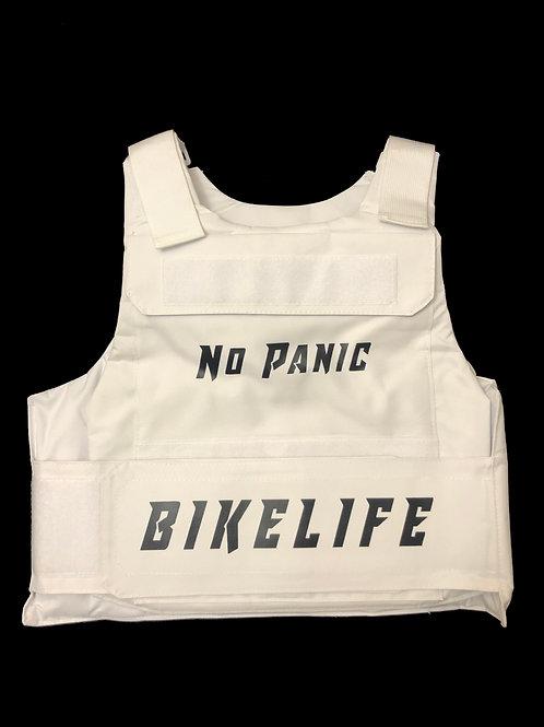 White Bike Life Riding Vest