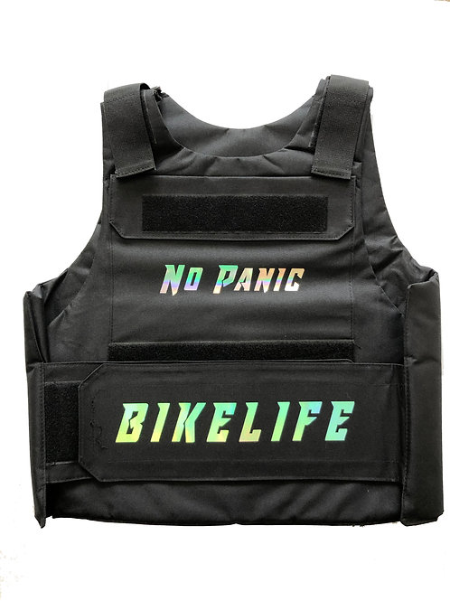 "1 of 2 ""Reflective"" Bike Life Riding Vest"