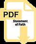 Twelve Stones - Statement of Faith