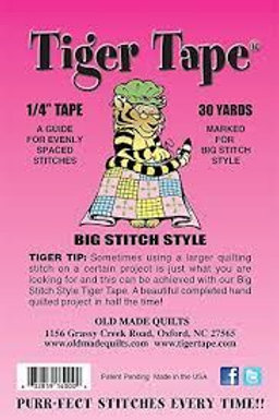 """TIGER TAPE™ -Marked at 9 lines/inch and is 1/4"""" wide"""