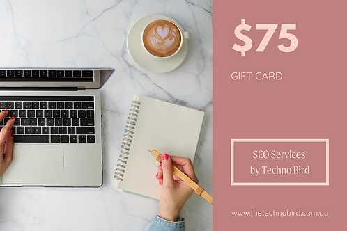 SEO Services Gift Card