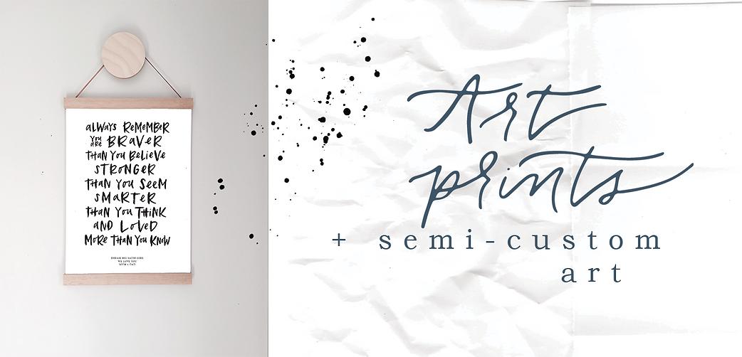 2. Hardinghand_Art prints + semi custom