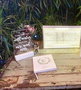 Acrylic Signs | Wedding & Event Custom Signs + Hire