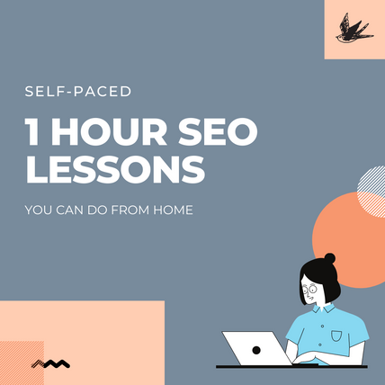 1 HOUR SEO LESSONS YOU CAN DO FROM HOME