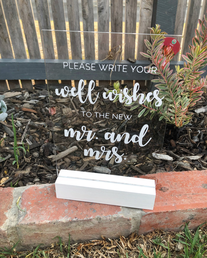 Custom acrylic signs - geelong