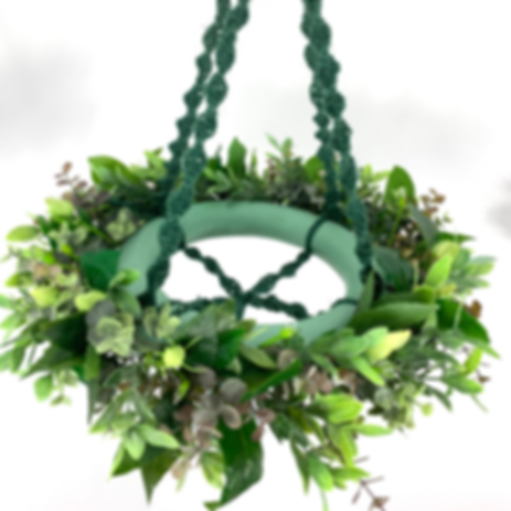 Planin floral chandelier by Once Upon A Flower