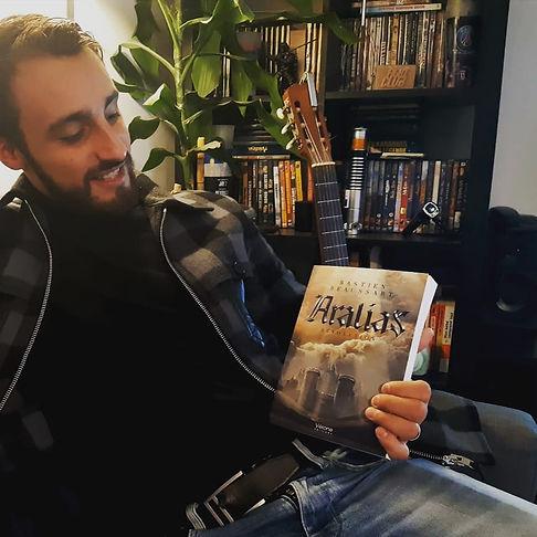 photo auteur bastien beaussart roman aralias fantasy