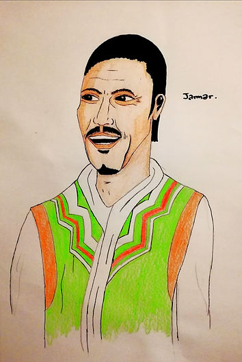 Jamar Elzedi Aralias personnage Ostan
