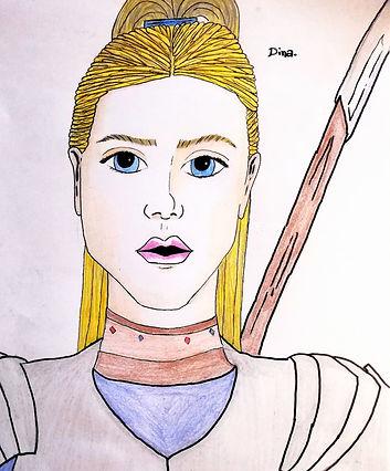 Dina de Bisaille Aralias personnage