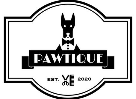 New logo for Pawtique Pet Grooming